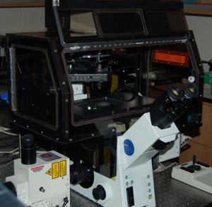 Olympus/3I Spinning Disk Confocal/Epifluorescence/TIRF Inverted Microscope