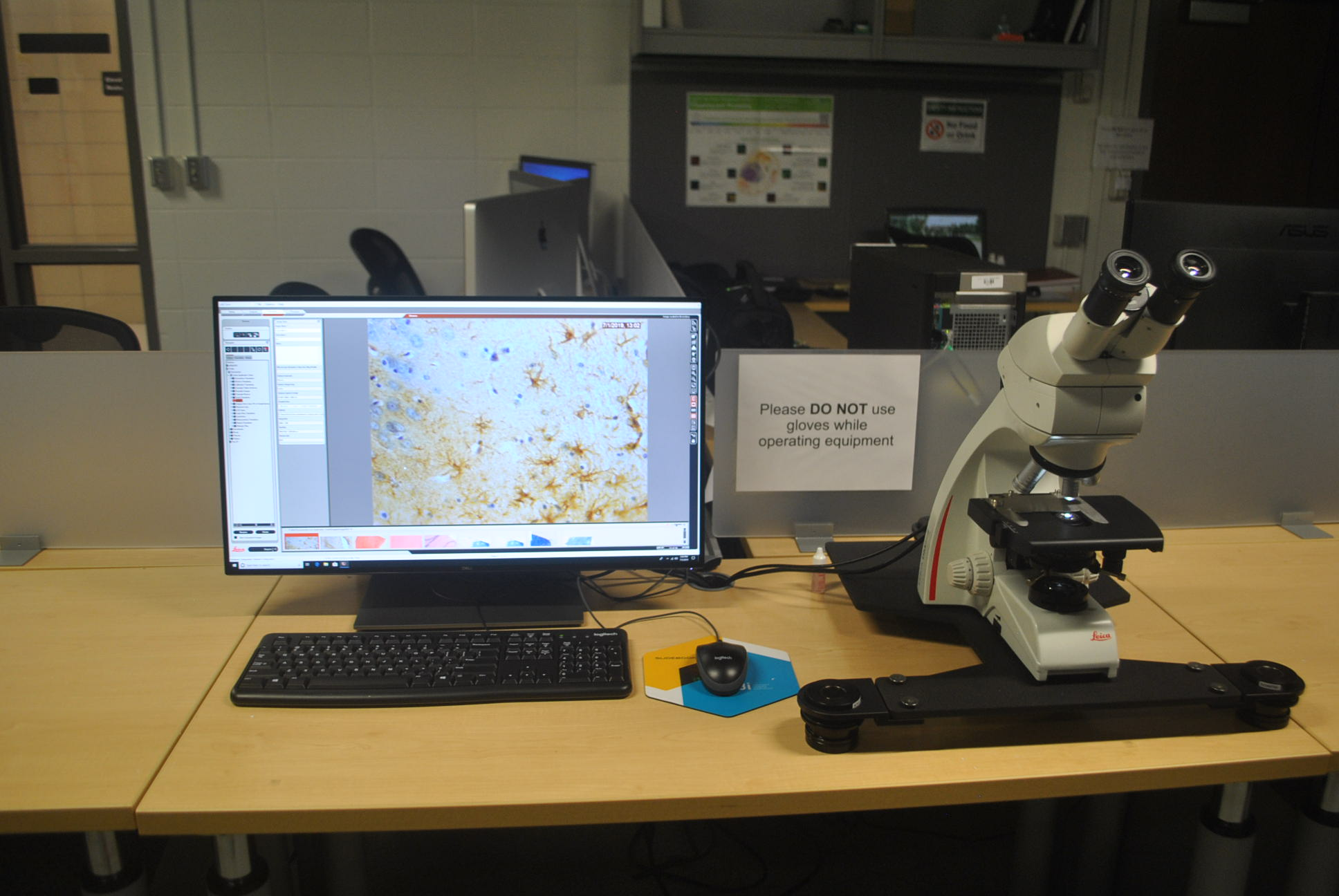 Leica DM750 Coumpound Bright Field Microscope