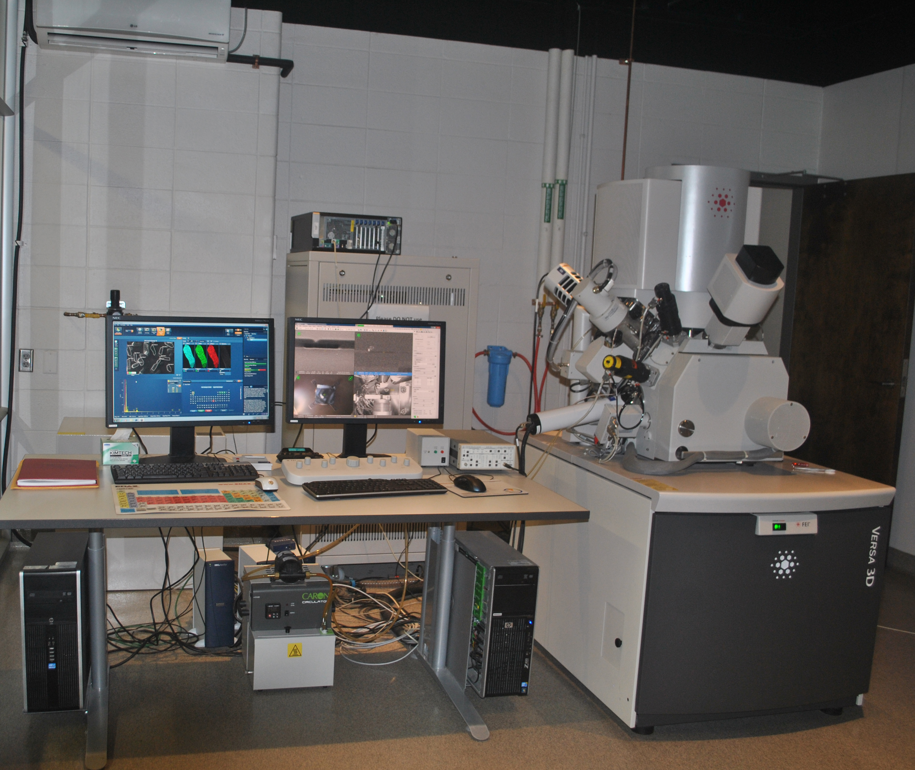 FEI VERSA THREE-DIMENSIONAL (3-D) DUALBEAM FIELD EMISSION/LOW VACUUM SCANNING ELECTRON MICROSCOPE